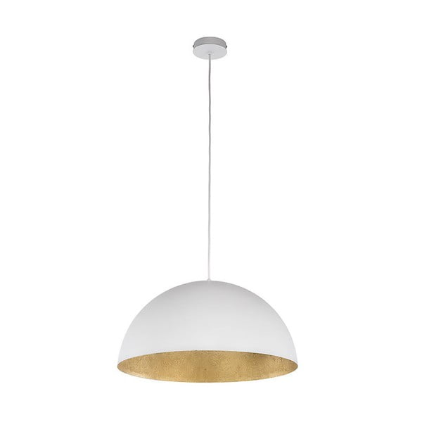 Biała lampa wisząca BRITOP Lighting Tuba L