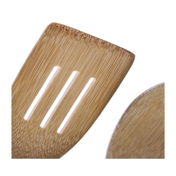 Zestaw 2 łyżek kuchennych Bamboo, różowy