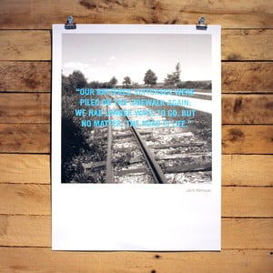 Plakat Jack Kerouac, 30x41 cm