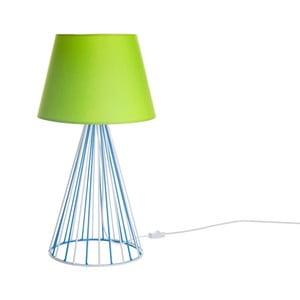 Lampa stołowa Wiry Lime/Blue