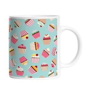 Ceramiczny kubek Yummy Cupcakes, 330 ml