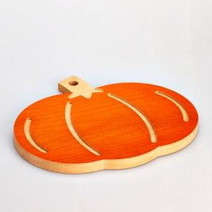 Bukowa deska do krojenia Pumpkin, 31x27 cm