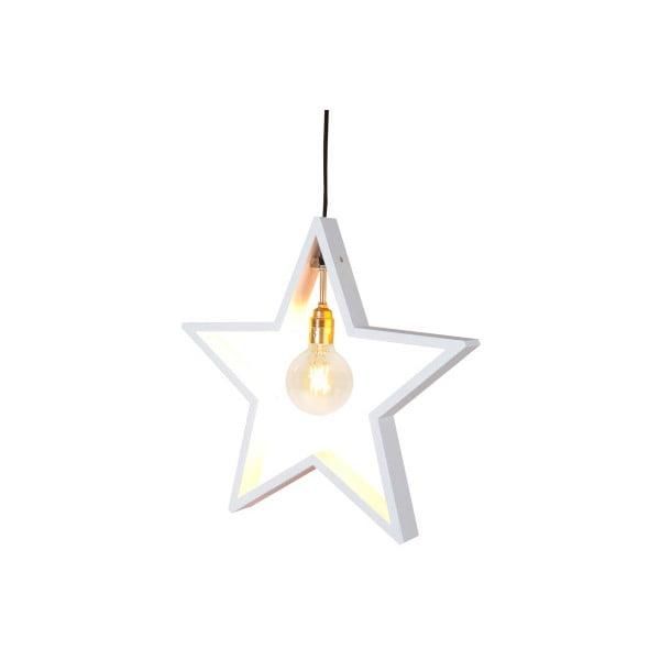 Wisząca   ozdoba świetlna, gwiazda Best Season Hanging White