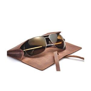 Skórzane etui na okulary Packenger
