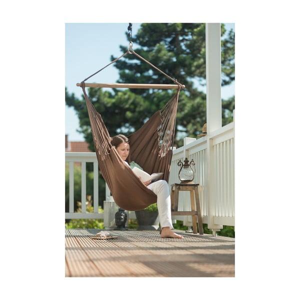 Krzesło-Hamak  Modesta, brązowe