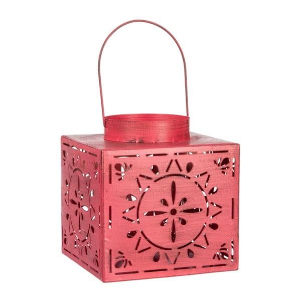 Lampion Valencia Pink, 17x17x18 cm