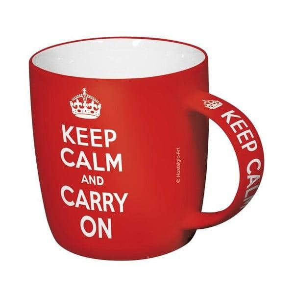 Kubek ceramiczny Keep Calm, 330 ml