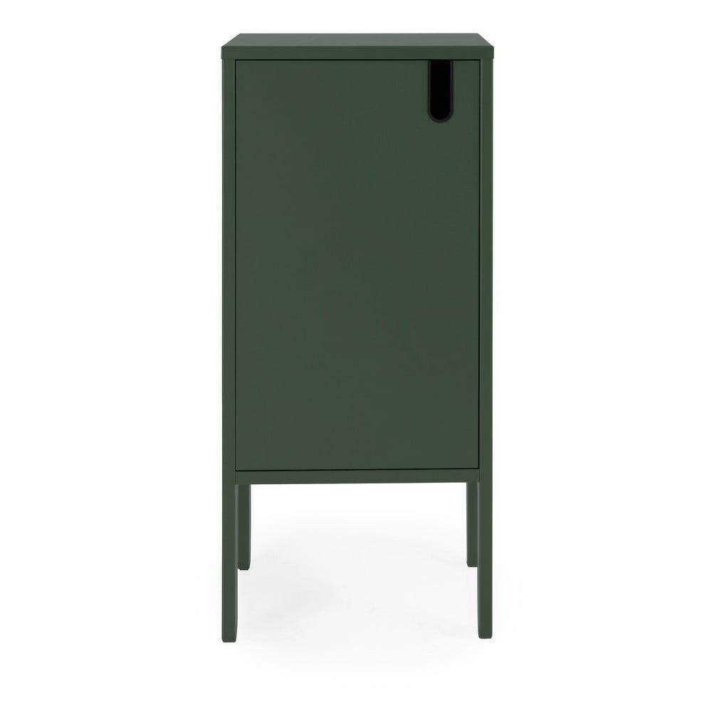 Ciemnozielona szafka Tenzo Uno, szer. 40 cm