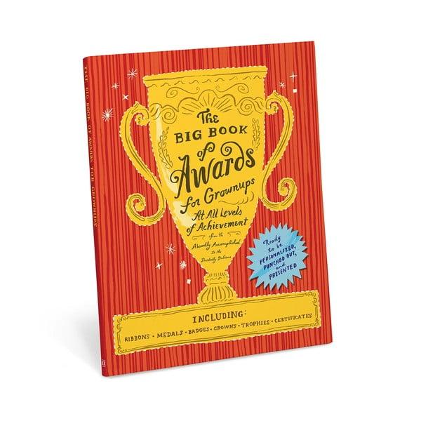 Wycinanka pełna odznaczeń i nagród na prezenty Big Book of Awards