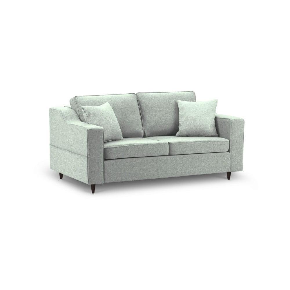 Jasnozielona sofa 2-osobowa Mazzini Sofas Narcisse