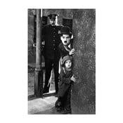 Foto-obraz Charlie Chaplin, 81x51 cm