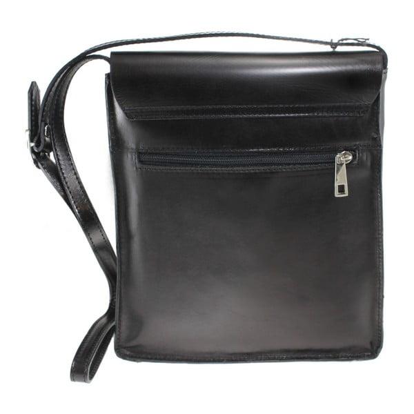 Czarna torba skórzana Valeria