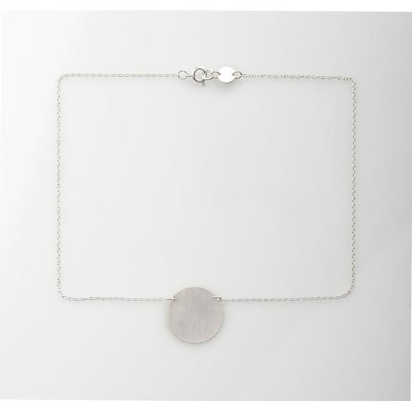 Naszyjnik Disk Silver z kolekcji Geometry