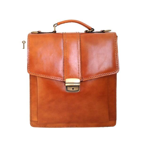 Skórzana torba Barolo, miodowa