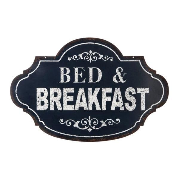 Blaszana tablica Bed&Breakfast