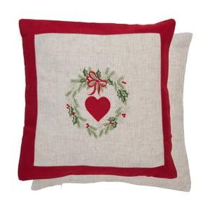Poszewka na poduszkę Clayre & Eef Christmas Deco II, 40x40 cm