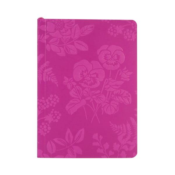 Notatnik w linie A6 Laura Ashley Parma Violets by Portico Designs, 150str.