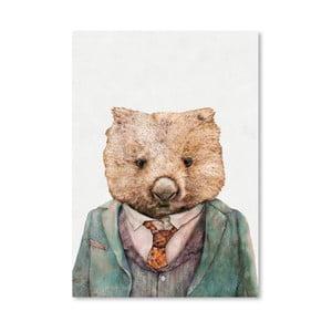 "Plakat ""Wombat"", 30x42 cm"