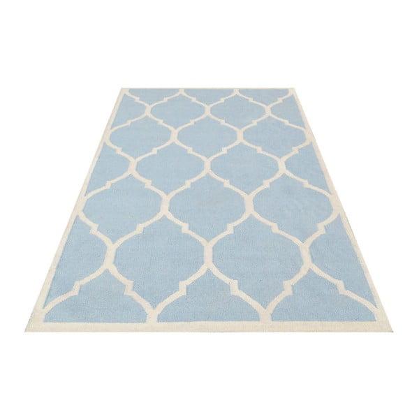 Dywan wełniany Lara, 120x180 cm, jasnoniebieski
