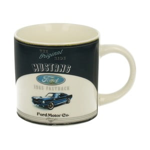 Kubek porcelanowy Duo Gift Retro Mustang, 430 ml