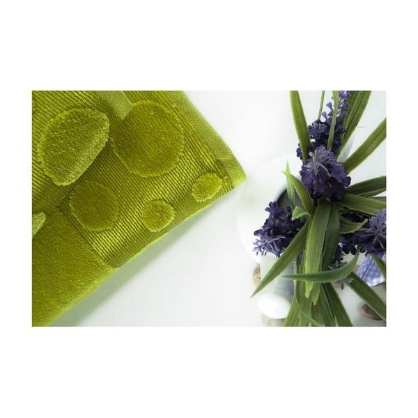 Zestaw 2 ręczników Tropical Green, 70x140 i 50x90 cm