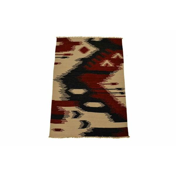 Wełniany dywan Kilim 121, 140x200 cm