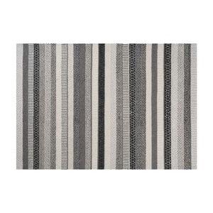 Wełniany dywan Mariko Grey, 140x200 cm