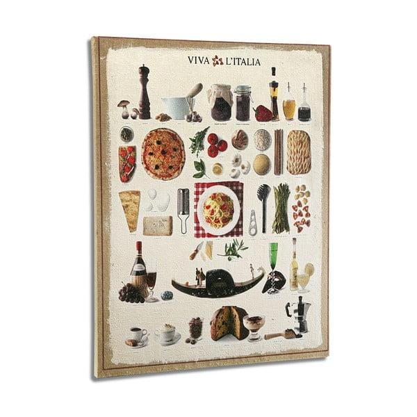 Drewniany   obraz Versa Italian Kitchen