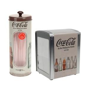 Serwetnik i stojak na wykałaczki Coca-Cola