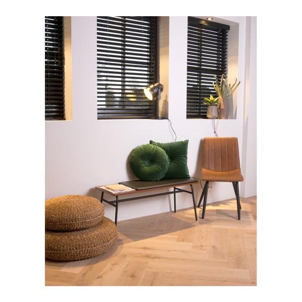 Jasnobrązowe krzesło Leitmotiv Raw