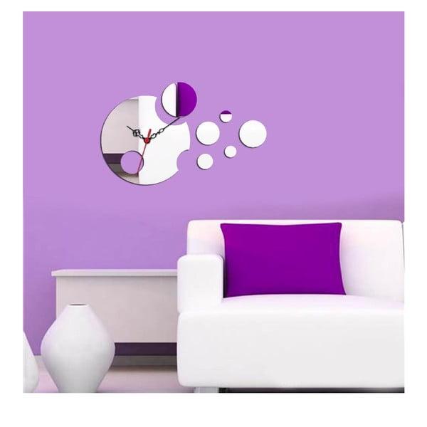 Zegar i lustro dekoracyjne Circle Planet