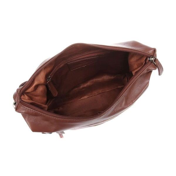 Damska torba skórzana Valentina Whiskey Small Hobo
