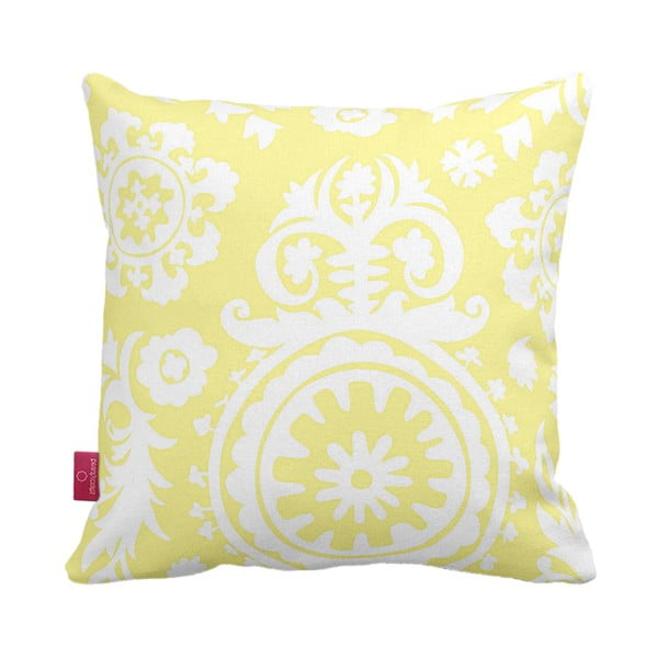 Poduszka Yellow, 43x43 cm