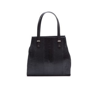 Skórzana torebka Luisa Vannini 8028, czarna