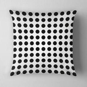 Poduszka Small Black Dots, 43x43 cm