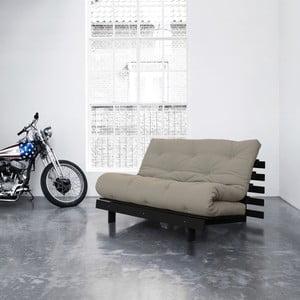 Sofa rozkładana Karup Roots Wenge/Vision
