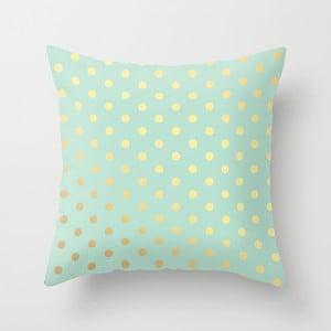 Poszewka na poduszkę Blue Gold, 45x45 cm