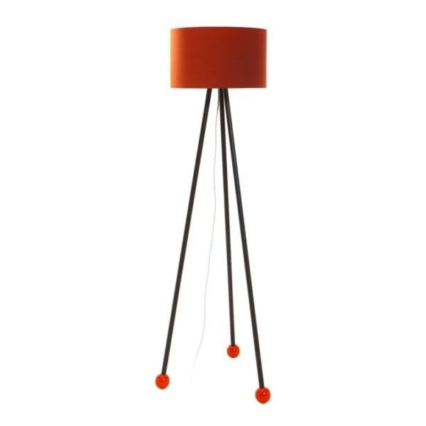 Lampa stojąca Morello Orange/Black