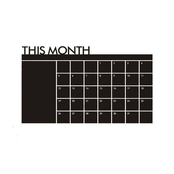 Naklejka Calendario