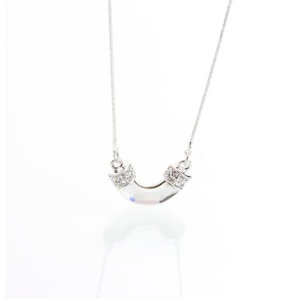 Naszyjnik z kryształami Swarovskiego Yasmine Tube
