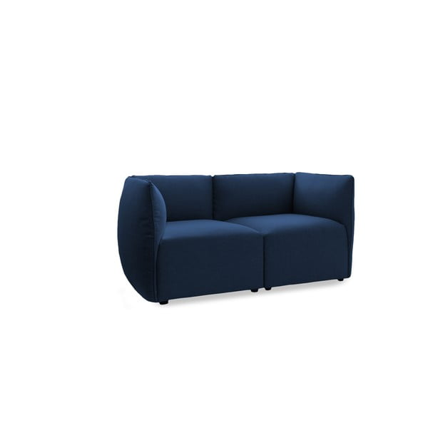 Sofa dwuosobowa VIVONITA Cube Dark Blue