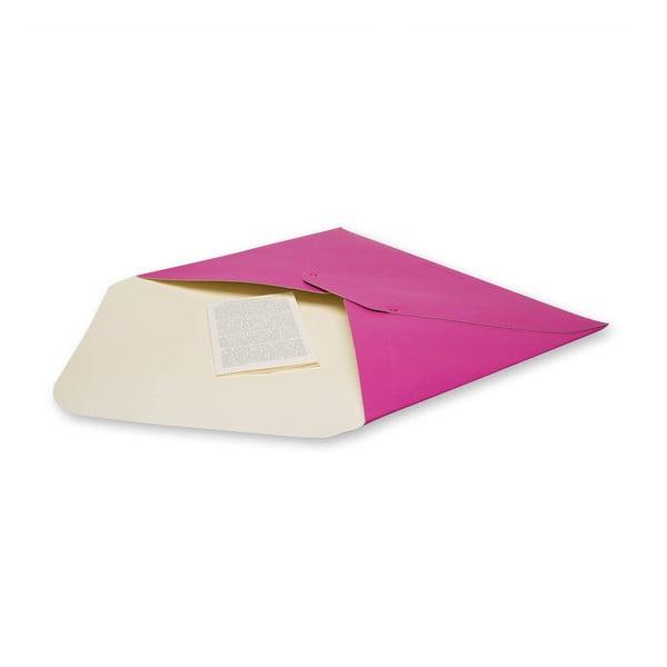 Papierowa teczka na dokumenty Moleskine Hot Pink A4