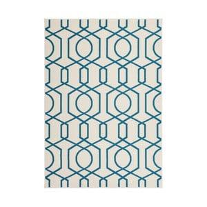 Dywan Stella 400 Ivory Turquoise, 80x150 cm