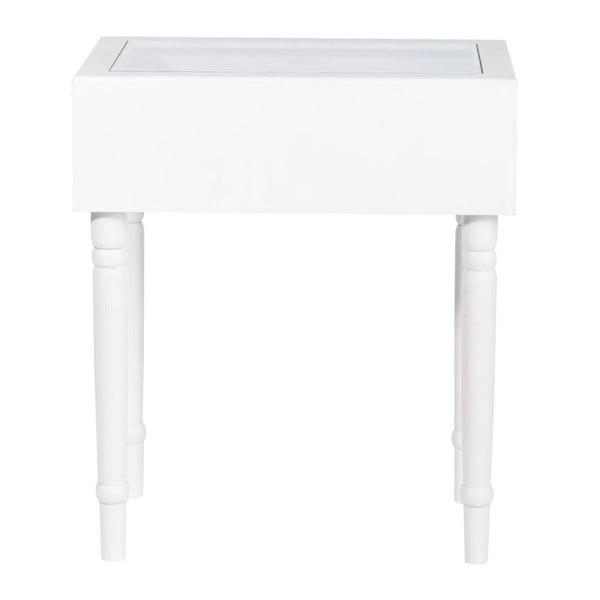 Konsolka Diva White, 45x32x52 cm