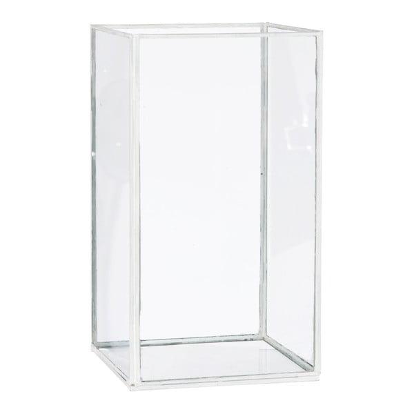 Lampion/wazon Cube, wys.28cm