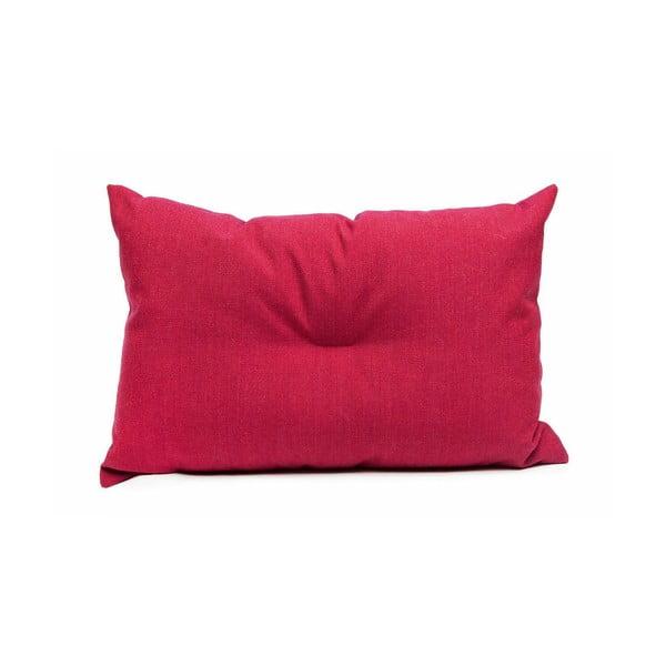 Wełniana poduszka Crips, czerwona