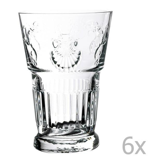 Zestaw 6 szklanek Versailles, 400 ml