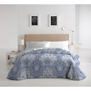 Zestaw pościeli i poduszki Almonte Azul, 140x200 cm