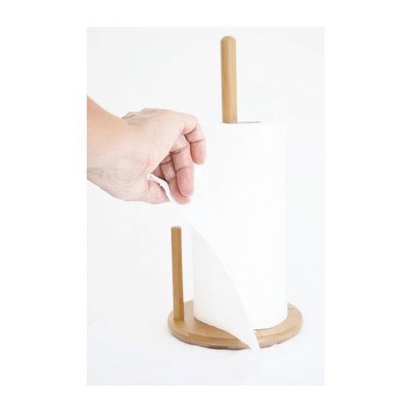 Bambusowy stojak na ręczniki papierowe Bambum Cornetti