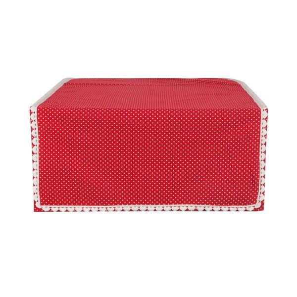 Bieżnik Border Hearts  50x140 cm, czerwony